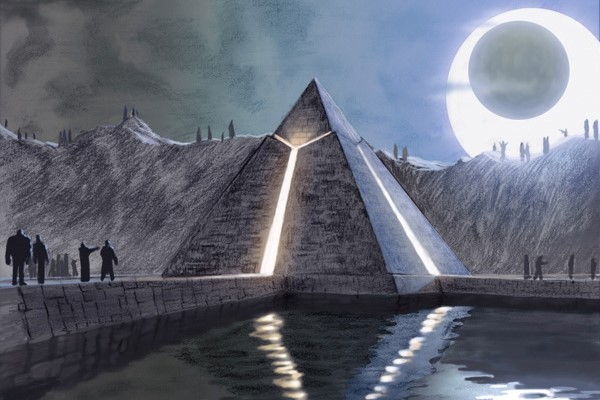 Pyramids of Giza – built by aliens?